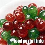 Зелени и червени череши